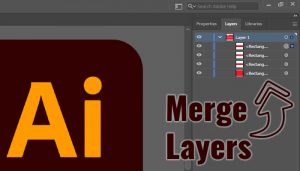 How to Merge Layers in Illustrator CC