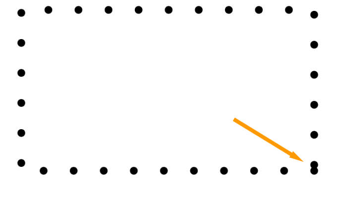 Overlapping dots