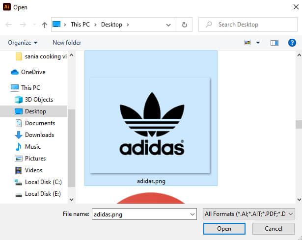 Select PNG File