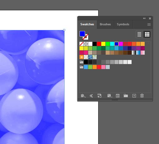 RGB Blue Color Option