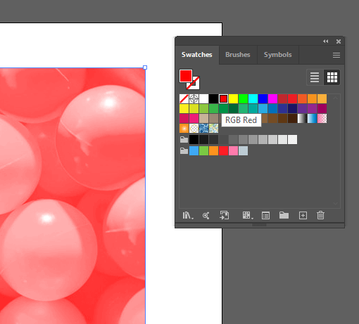 RGB Red Color Option